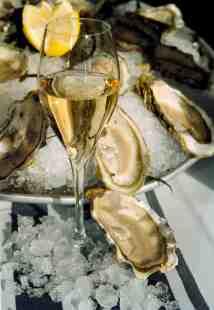 champagne & huîtres