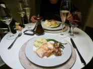 saumon & champagne
