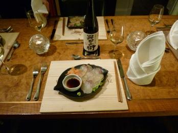 Sashimi & Sake de Hanna Sake