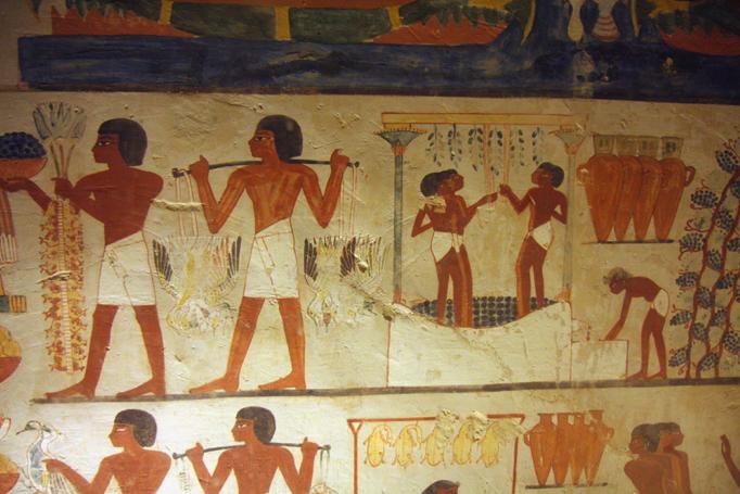 Tombe Nakht TT52 Sheikh Abd el-Qurna Luxor