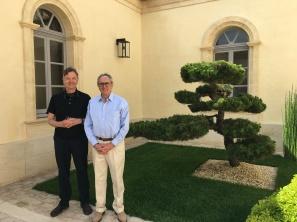 avec Jean-Claude Berrouet