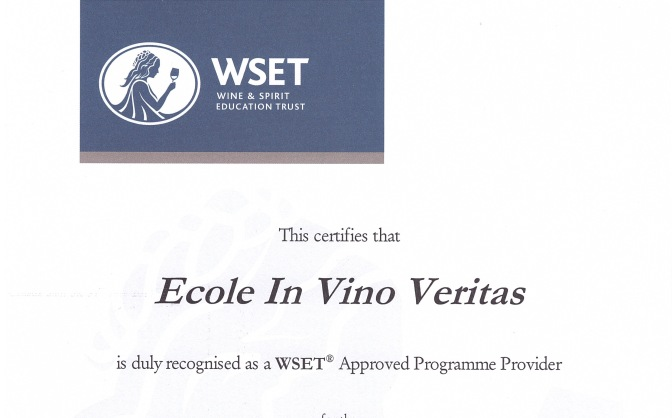 2016-2017: WSET fifth academic year